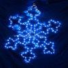 Van de LEIDENE van de Decoratie van Kerstmis het Licht Kabel van de Sneeuw (ldm-sneeuw-50CM)
