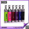 스테인리스 색깔 E 담배 Evod 2 이중 코일 분무기