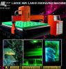 prix de grande taille de machine de gravure du laser 3D