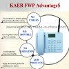 Téléphone sans fil de bureau de GM/M WCDMA (KT1000 (135))