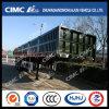 Cimc cargaison du mur latéral 3axle de Huajun 1200mm/de barrière bas de page semi