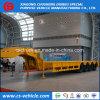 Semi Aanhangwagen van Lowbed van de Aanhangwagen van de Lader van 4 As van de Verkoop van de fabriek de Op zwaar werk berekende Lage 60t 100t