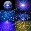 (6*1W RGB) de Disco LED Crystal Ball Magic Light van LED Effect DMX