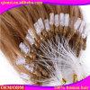 고품질 100% 사람의 모발 마이크로 반지 머리 연장