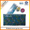 Briefpapier eingestellt in PVC-Beutel, zurück zu dem Schule-Bleistift-Kasten eingestellt (S0001)