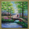 Landscape Handmade Knife Painting per Wall Decoration (KLKP1-003)