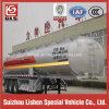 Corrosivesのための3車軸38000L Chemical Liquid Tank Semi Trailer