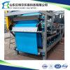 Enlever l'eau dans le cambouis du filtre-presse de courroie