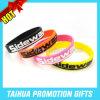 Gravée et bracelet en silicone rempli de couleur avec la société Cadeaux (E-08621)
