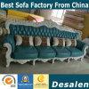 4 Seaterの工場卸売の本革の高貴なソファー(003)