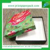 Rectángulo de regalo de encargo del papel de imprenta de la cartulina de la caja de embalaje de la flor