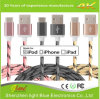 Qualitäts-Flechte Nylon-USB-Kabel 3feet