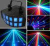 RGBW LED LED 4en1 2-D de la luz de efecto de luz de la mariposa