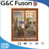 Porte coulissante et en aluminium de qualité supérieure avec verre trempé