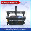 Ele 1530 Jinan Blue Elephant CNC Máquina de tallado de madera, 3D de madera CNC maquinaria para la puerta, la guitarra haciendo