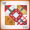 Bandanas décoratifs carrés estampés par coutume de mode