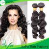 Extensiones locas del pelo humano de Culrs de la onda del pelo indio de la Virgen de la manera de Wholoesale
