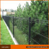 Rete fissa di piegamento ricoperta PVC nera della rete metallica del bordo del giardino