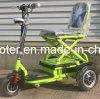 Отключено 350W складные три колеса электрического скутера мобильности с маркировкой CE