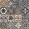 Tuile rustique de porcelaine de décoration de tuile
