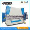 Máquina de dobra hidráulica da placa Wc67y-200X5000 de aço/