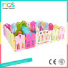 La cerca plástica barata del juego del bebé sin las bolas y la diapositiva fijaron (HBS17072A)