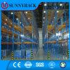 Высокая вертикальная вешалка полки хранения пакгауза использования