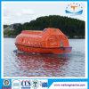 Canoa de salvação livre da queda do barco salva-vidas parcialmente incluido do fuzileiro naval da fibra de vidro com aprovaçã0 do SOLAS para 22-130 Persoin