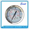 Manomètre de Mesurer-Silicones de pression de caisse de Mesurer-Baïonnette de pression d'acier inoxydable