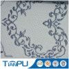 China Fábrica 100% poliéster Jacquard patrón color colchón de tela tictac paño para el protector del colchón