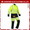 Overtrek van Workwear van de Mensen van de Koker van de veiligheid het Weerspiegelende Lange (elthvci-5)