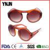 Ynjnの大きい円形の目フレームの習慣によって印刷されるサングラス(YJ-S72515)