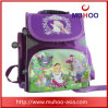 Милый пурпуровый мешок книги Backpack детей для школы