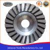 100mm Turbo Cup Wheel com núcleo de alumínio para Stone
