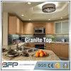 Granito de piedra natural para la mesa de la cocina con el tratamiento de los bordes Eased