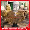 Beeldhouwwerk van de Mislukking van de steen het Marmeren Hoofd voor het Standbeeld van het Beeldje