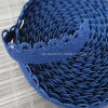 tessitura molle della biancheria intima della parte della peluche del grande bordo dello smerlo del Knit del Crochet di 13mm