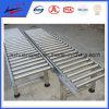 100mm de ancho Transportador de rodillos de almacén para el transporte de paquetes