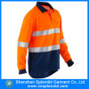 Constructeurs élevés de visibilité de chemise de polo d'uniformes de vêtements de travail