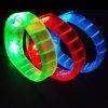 Bracelete de piscamento do diodo emissor de luz do bracelete do diodo emissor de luz do bracelete de Halloween