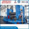 Máquinas hidráulica da dobra de aço e de rolamento da placa de 3 rolo W11S-50X4000