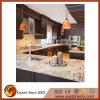 Base d'appoggio ornamentale della cucina del granito di Naturel Giallo