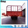 Трейлер бортовой стены перехода перевозчика грузов 3 Axles Semi