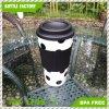 ふたが付いている個人化された食品安全性のプラスチックによって絶縁されるマグのコーヒーカップ