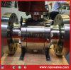Reducir el muñón de acero forjado de puerto de la válvula de bola