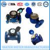 Tipo seco contador de Datachable de la carrocería del hierro del agua de Woltmann de Dn100mm