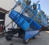 Kies/de Dubbele Aanhangwagen van de Lading van de As/de Aanhangwagen van de Tractor van het Landbouwbedrijf/de Aanhangwagen van het Nut uit