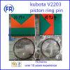 Kubota de alta calidad Pin anillo de pistón V2203
