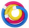 Cerchi di Hula di massaggio del PVC dell'attrezzo ginnico della molla dell'acciaio inossidabile