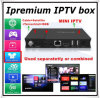 4k TV van Android Box Combine dvb-S2 met IPTV